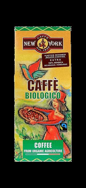 New York Biologico 100% Arabica 250g Bohnen
