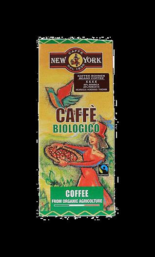 New York Kaffee Espresso Biologico 80:20 250g Bohnen