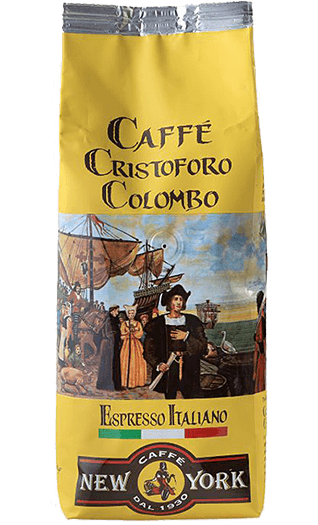 New York Kaffee Espresso Cristoforo Colombo 1000g Bohnen