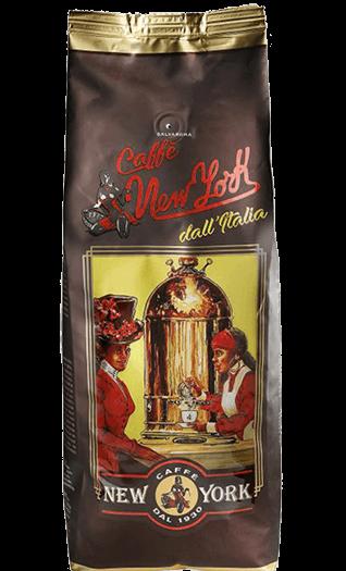 New York Kaffee Espresso Extra XXXX 1kg Bohnen