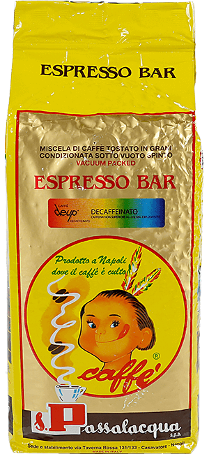 Passalacqua Deup Decaffeinato 1kg Bohnen