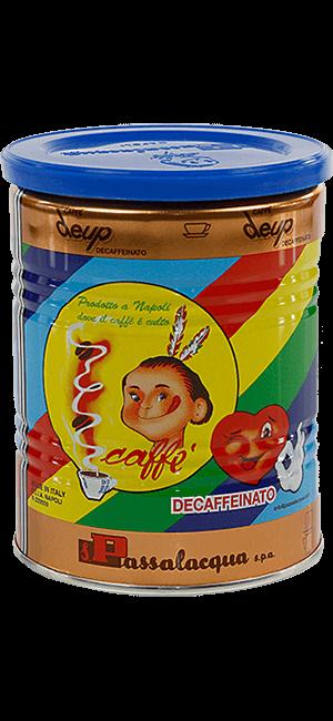 Passalacqua Deup Decaffeinato 250g gemahlen Dose