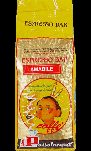 Passalacqua Kaffee Espresso Amabile 1000g Bohnen