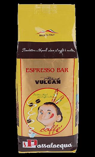 Passalacqua Kaffee Espresso Black Vulcan 500g Bohnen