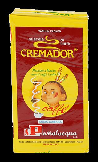 Passalacqua Kaffee Espresso Cremador 250g gemahlen