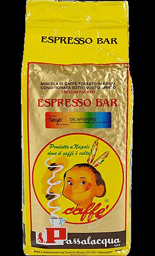 Passalacqua Kaffee Espresso Deup Decaffeinato 1kg Bohnen