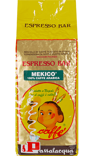 Passalacqua Kaffee Espresso Mekico Bohnen 1kg