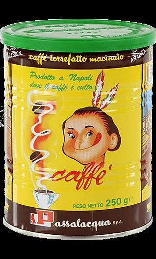 Passalacqua Kaffee Espresso Mekico 250g gemahlen Dose