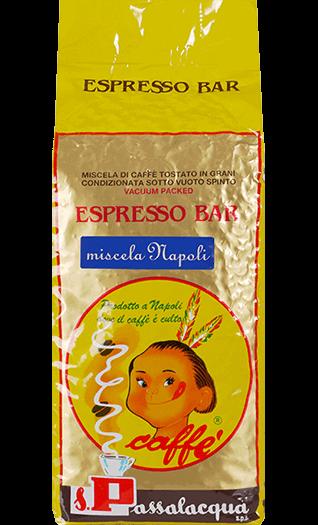 Passalacqua Espresso Miscela Napoli 1000g Bohnen