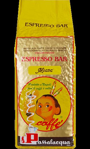 Passalacqua Kaffee Espresso Moana Bohnen 1kg