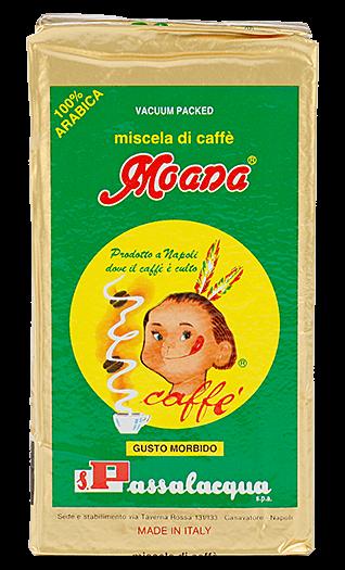 Passalacqua Kaffee Espresso Moana 250g gemahlen
