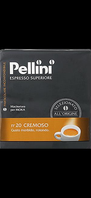 Pellini N°20 Cremoso 500g gemahlen