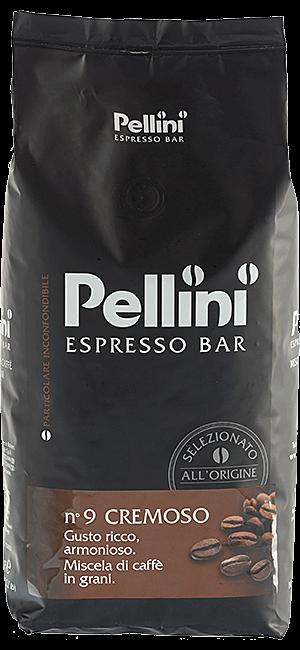 Pellini Espresso Bar N° 9 Cremoso Bohnen 1kg