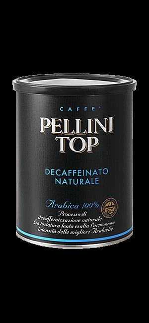 Pellini Top 100% Arabica Decaffeinato 250g gemahlen Dose