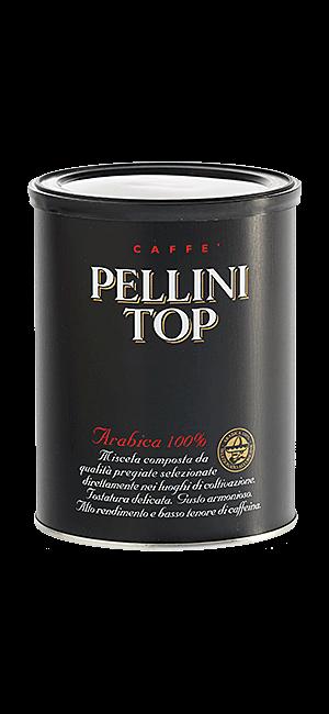 Pellini Top 100% Arabica 250g gemahlen Dose