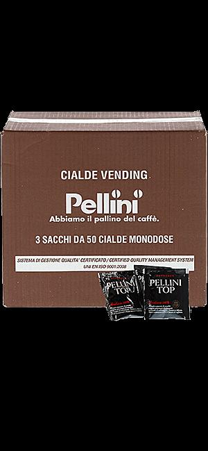 Pellini Top 100% Arabica E.S.E. Pads 150 Stück
