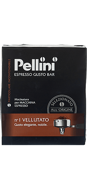 Pellini N°1 Vellutato 500g gemahlen