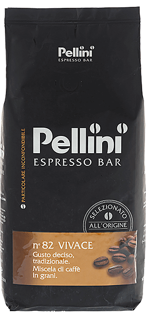 Pellini Espresso Bar N° 82 Vivace 1kg Bohnen