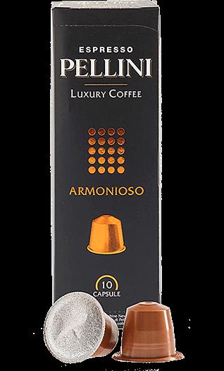 Pellini Kaffee Armonioso Kapseln 10 Stück