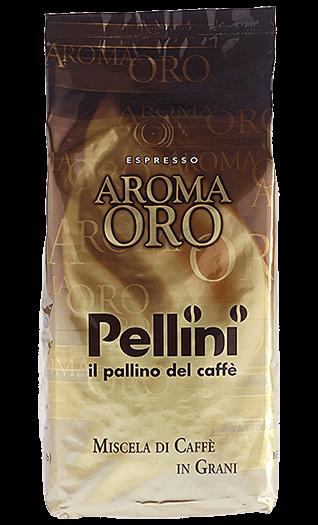 Pellini Kaffee Espresso Aroma Oro Bohnen 1kg