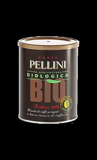 Pellini Kaffee Espresso Bio gemahlen 250g Dose