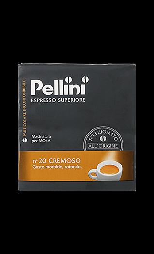 Pellini Kaffee N°20 Cremoso gemahlen 500g