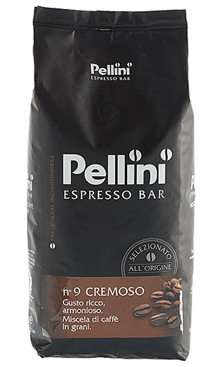 Pellini Kaffee N° 9 Cremoso Bohnen 1kg