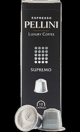 Pellini Kaffee Supremo Nespresso® kompatibel 10 Kapseln