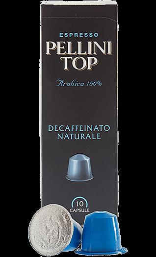 Pellini Kaffee Top Decaffeinato Naturale Kapseln 10 Stück