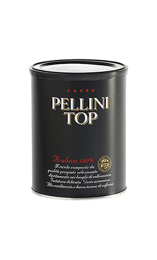 Pellini Caffe Top 100% Arabica gemahlen 250g Dose