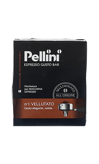 Pellini Kaffee Espresso N°1 Vellutato 500g gemahlen
