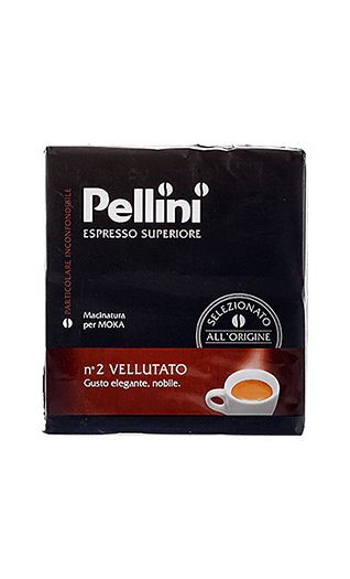 Pellini Espresso N°2 Vellutato gemahlen 500g
