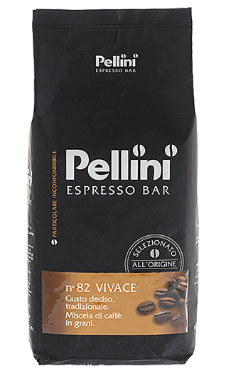Pellini Kaffee Espresso N° 82 Vivace Bohnen 1kg