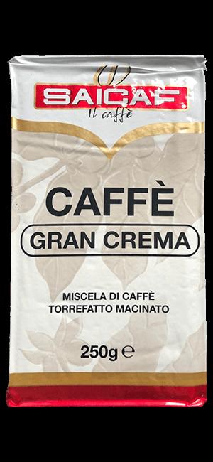 Saicaf Caffè Gran Crema 250g gemahlen