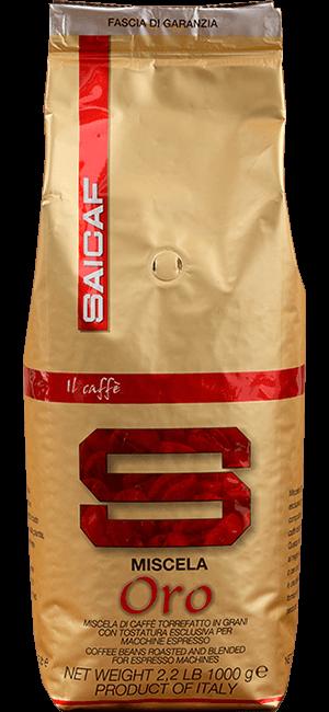 Saicaf Miscela Oro 1kg Bohnen
