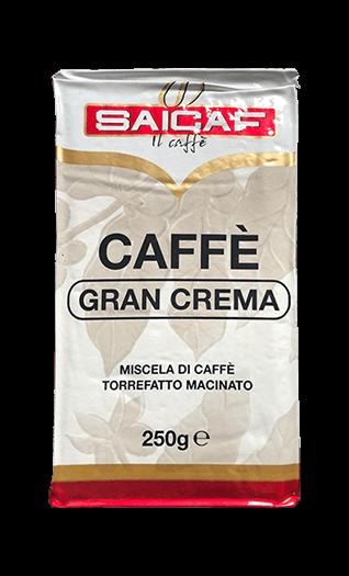 Saicaf Kaffee Espresso Gran Crema gemahlen 250g