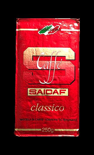 Saicaf Kaffee Espresso Classico gemahlen 250g