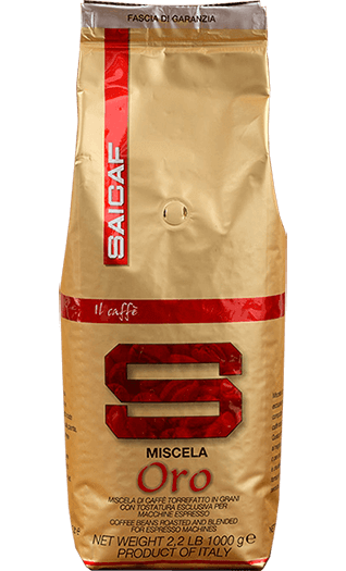 Saicaf Kaffee Espresso Miscela Oro Bohnen 1kg