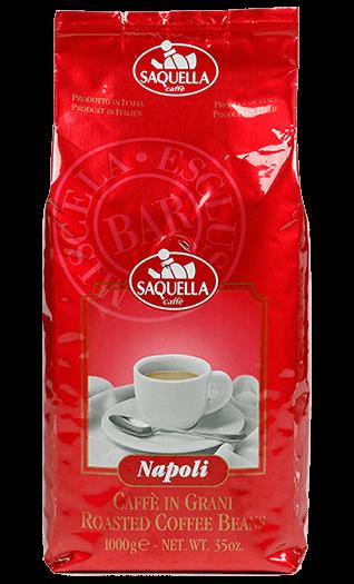 Saquella Kaffee Napoli Bar Bohnen 1kg