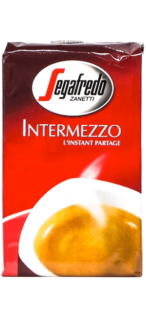Segafredo Intermezzo 4 x 250g gemahlen