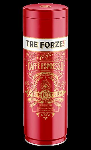 Tre Forze! Espresso gemahlen 250g Dose