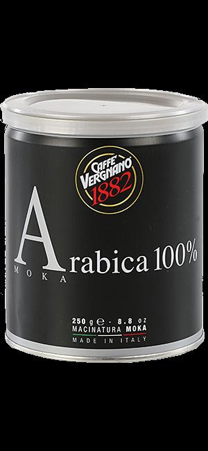 Vergnano 100% Arabica Moka 250g gemahlen Dose