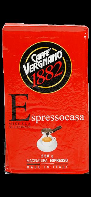 Vergnano Espresso Casa 250g gemahlen