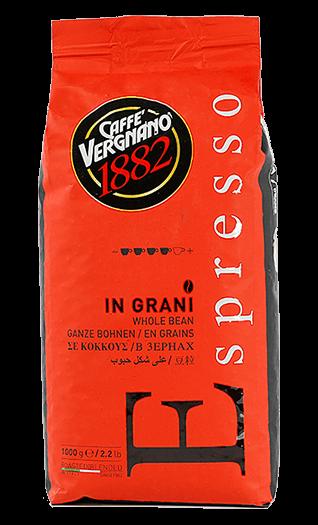 Vergnano Caffe Espresso 1000g Bohnen