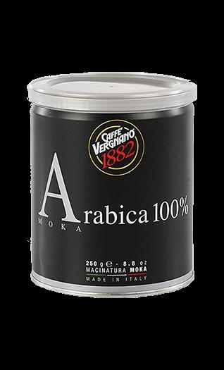 Vergnano Kaffee Espresso 100% Arabica Moka gemahlen 250g Dose