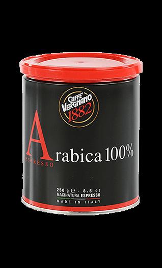 Vergnano Caffe Arabica 100% gemahlen 250g Dose