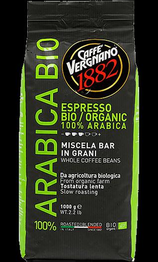 Vergnano Caffe Bio Organic Bohnen 1kg