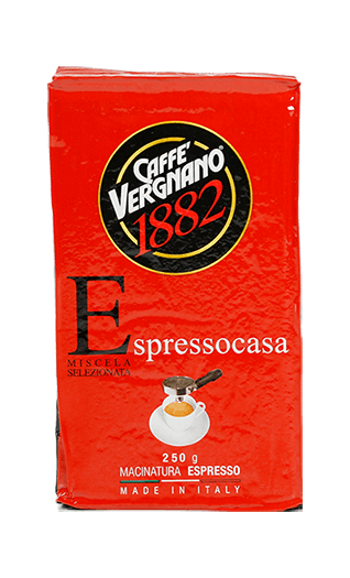 Vergnano Kaffee Espresso Espresso Casa gemahlen 250g