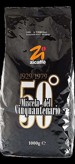 Zicaffe Cinquantenario 50° 1kg Bohnen